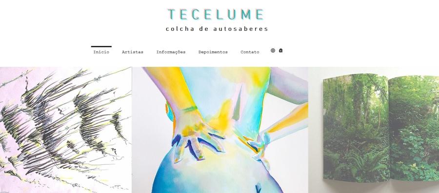 Print tela exposição Tecelume